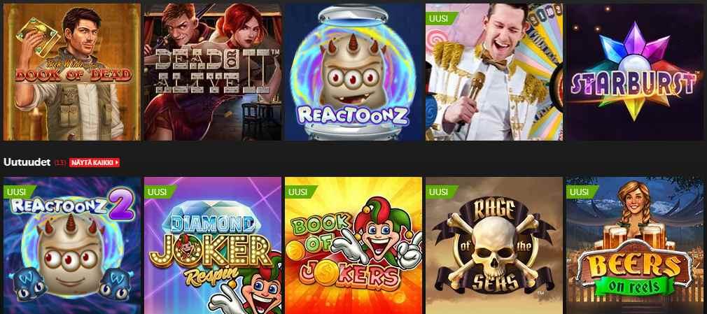 screenshot betsafe games