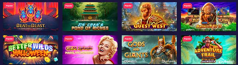 nightrush games casino screenshot
